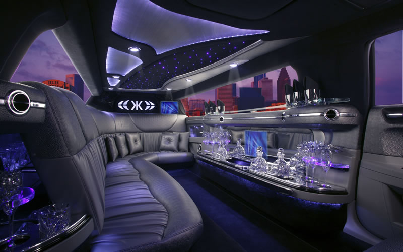 Wigan limos show off an amazing interior, classy and elegant