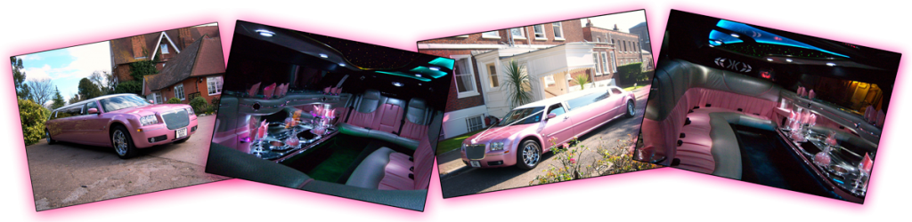 Pink Limo Hire Warrington